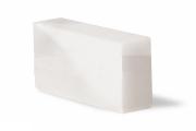 Кирпич из соли Белый Шлифованый (20х10х5)