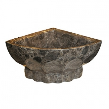 Курна TSL-7 Dark Brown Marble